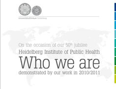 HIPH Jubilee brochure: Who we are